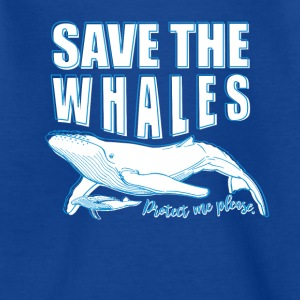 Save the whales - Teenage T-shirt