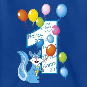 Geburtstag squirrel number 1 - Teenager T-Shirt