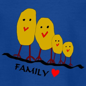 familie - Teenager T-shirt