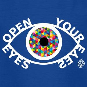 Formes - Open Your Eyes Blanc - T-shirt Ado