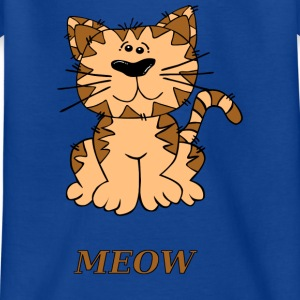 Katze meow - Teenager T-Shirt