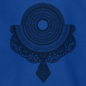 Mandala schwarz - Teenager T-Shirt