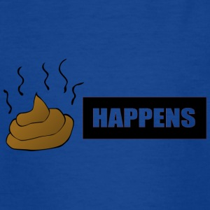 shit happens - T-shirt tonåring