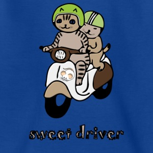 scooters propelled Cats - Teenage T-shirt