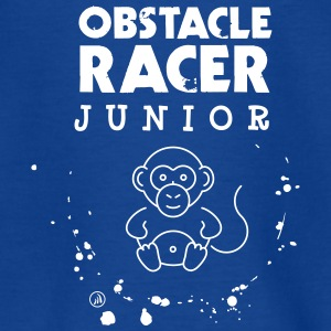 Junior hindring racer - Teenager-T-shirt