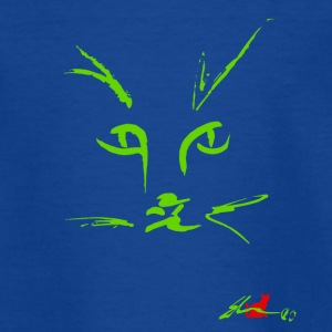 Muzzle CAT'S GREEN - Teenage T-shirt