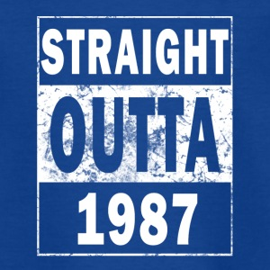 1987 - Straight outta - Teenager T-Shirt