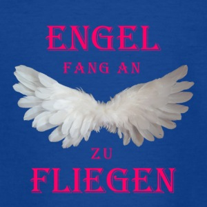 Engel fang an zu Fliegen (rosa) - Teenager T-Shirt