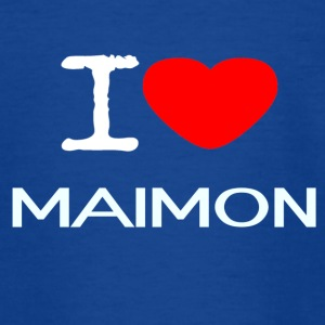 I LOVE MAIMON - Teenager T-Shirt