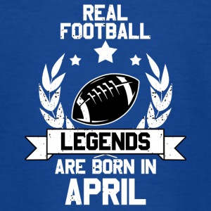 Football Legends! Verjaardag! april - Teenager T-shirt