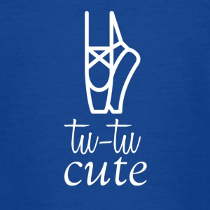 Tu-Tu is Cute - Teenager T-Shirt