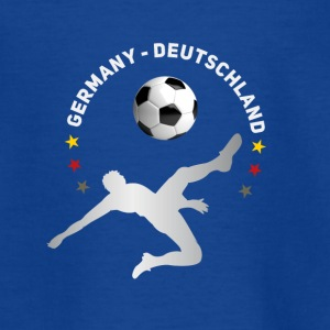 Football fall crushers goal Germany champion tea - Teenage T-shirt
