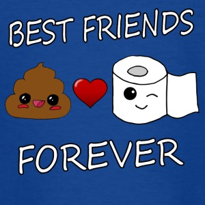 Poo et papier Best Friends Kawaii - T-shirt Ado
