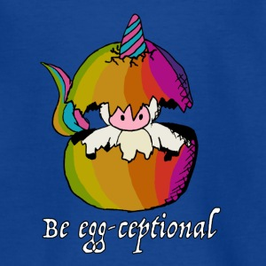 De eenhoorns zijn Egg-ceptional - Teenager T-shirt