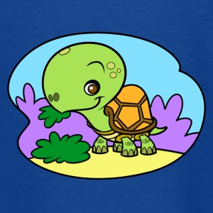 Tiny Turtle - Teenager T-shirt
