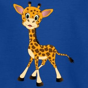 schattige giraffe - Teenager T-shirt