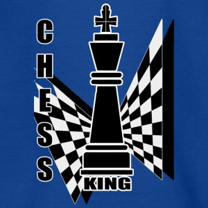 Chess king - T-shirt tonåring