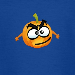 Citrouille heureux T-shirt Thanksgiving emoji plaisanterie comique - T-shirt Ado