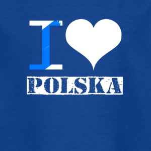 I love Polska - Teenager T-Shirt