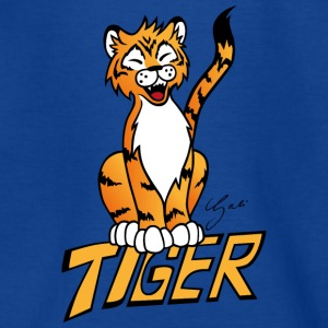 tiger - Teenager-T-shirt