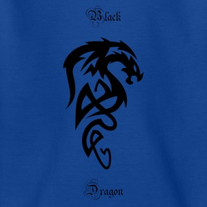Tribal Dragon - Teenager T-shirt
