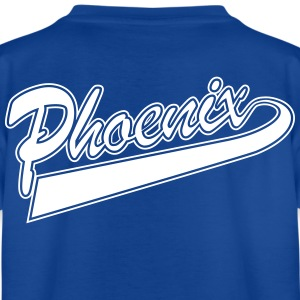 Logo Phoenix txt - Teenage T-shirt