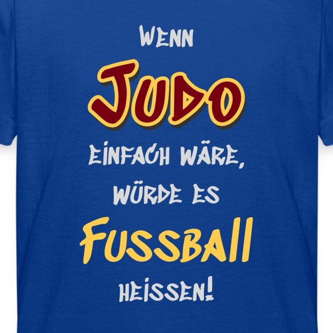 Wenn Judo einfach wäre...