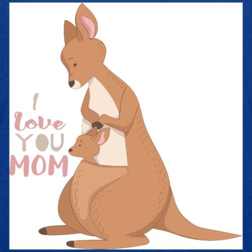 Kangaroo Mom Love - T-skjorte for tenåringer
