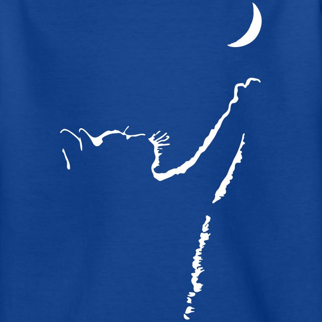 Vorschau: cat moon - Teenager T-Shirt