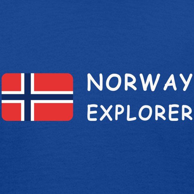 NORWAY EXPLORER white-lettered