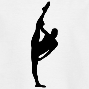 Vector Balletdanser Silhouet - Teenager T-shirt