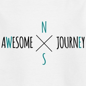 Awesome Journey - Travel (roadtrip) t-shirt - Teenage T-shirt