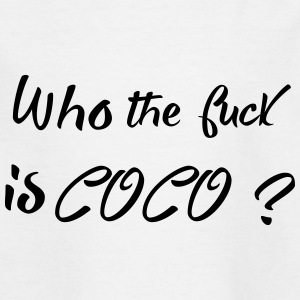 who is coco - T-shirt Ado