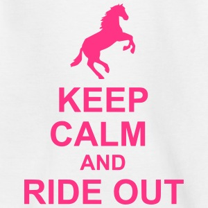 Keep Calm Horse - Teenage T-shirt