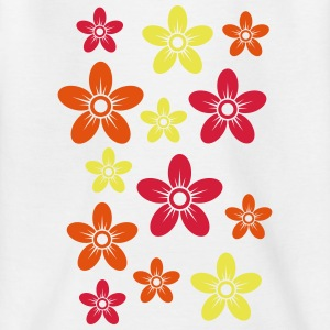Flowers - Flower - all colors - Teenage T-shirt