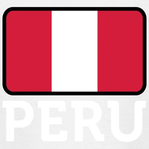 National Flag Of Peru - T-skjorte for tenåringer