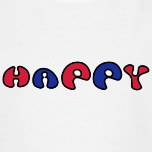 Happy - Teenage T-shirt