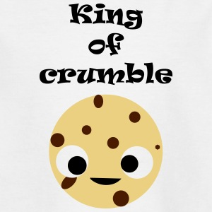 King of crumble kinderen - Teenager T-shirt