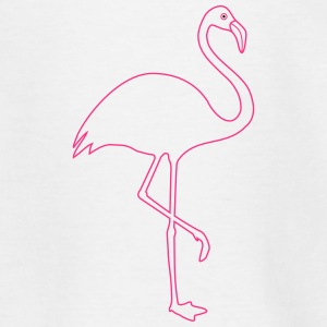Flamingo Silhouette in pink - Teenager T-Shirt