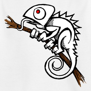 Albino_Chameleon - Teenager T-Shirt
