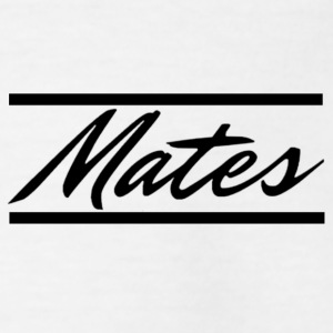 """Mates"" lettering with bars - Teenage T-shirt"