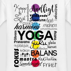 yoga_ord - Teenager T-shirt