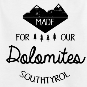 Made for the Dolomites - Teenage T-shirt