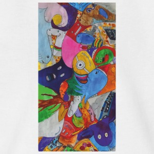 different figures - Teenage T-shirt