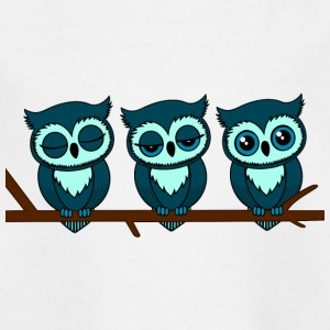 Sleeping Owls - Teenage T-shirt