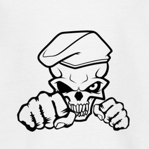 Skull Soldier - Teenager-T-shirt