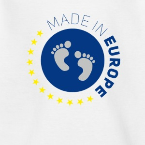 made in europe amour europe UE amour bébé lo - T-shirt Ado