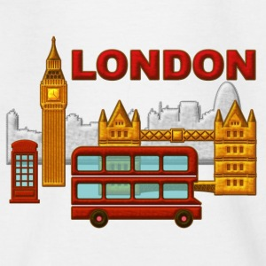 Londres, London, Inglaterra, recuerdo - T-shirt Ado