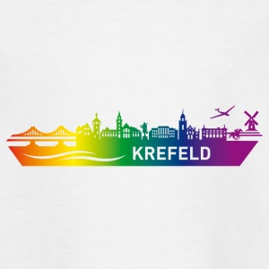 Skyline KREFELD Rainbow - Teenage T-shirt