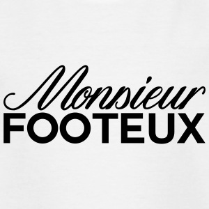monsieur footeux - T-shirt Ado